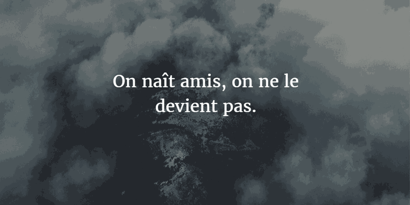 Memorable French Quotes About Friendship Enkiquotes French Quotes About Friendship French Quotes Friendship Quotes