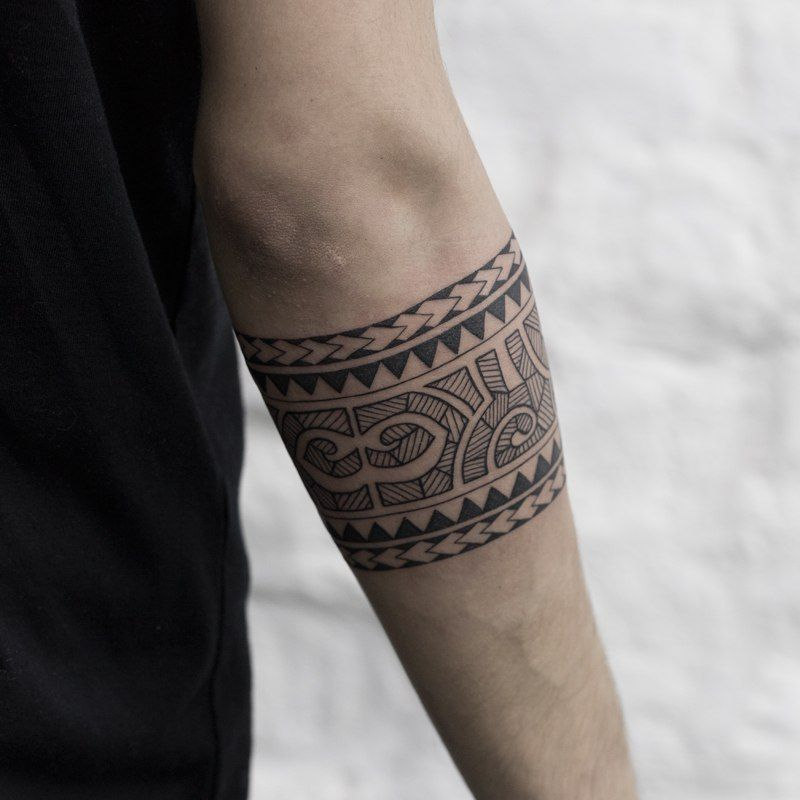 Tatto Brazalete Tatuajes Masculinos De Brazo Tatua