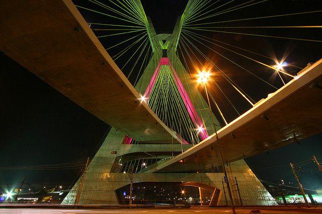 Image result for octavio frias de oliveira bridge