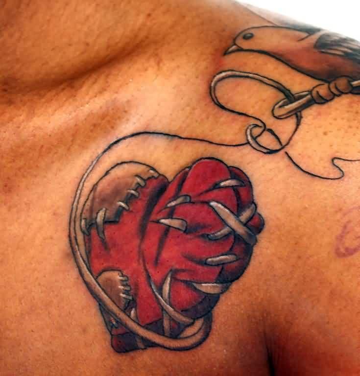 Heart Tattoos For Men Broken Heart Tattoo Broken Heart Tattoo Designs Broken Tattoo