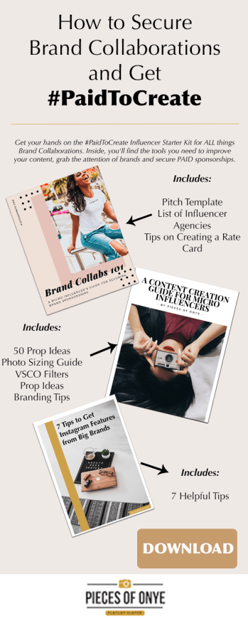 How To Create A Rate Card As A Micro Influencer Brand Collaboration Blog Content Strategy Instagram Rates