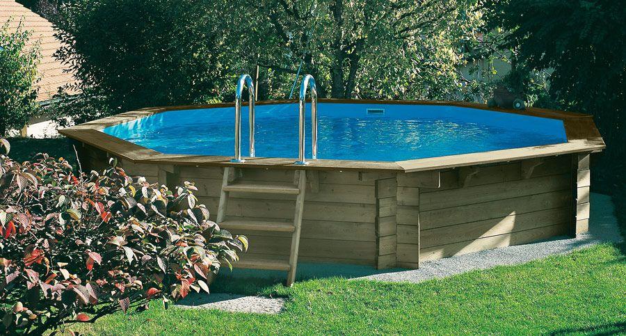 Piscine bois NOSY BE 511 x 120 cm OOGarden - Les piscines en bois