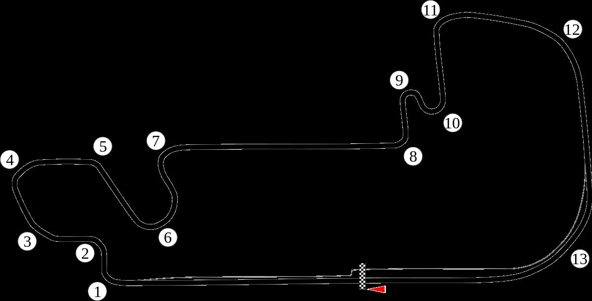 List Of Formula One Circuits Wikipedia The Free Encyclopedia Pistas De Carrera Carreras