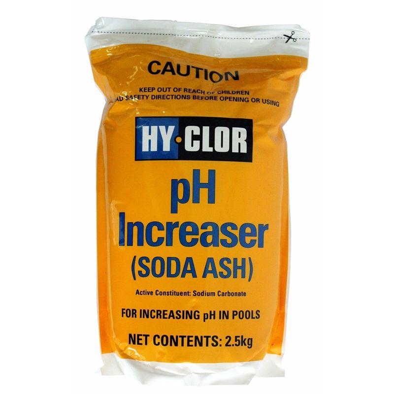 Hyclor 25kg soda ash ph increaser soft pack soda soft
