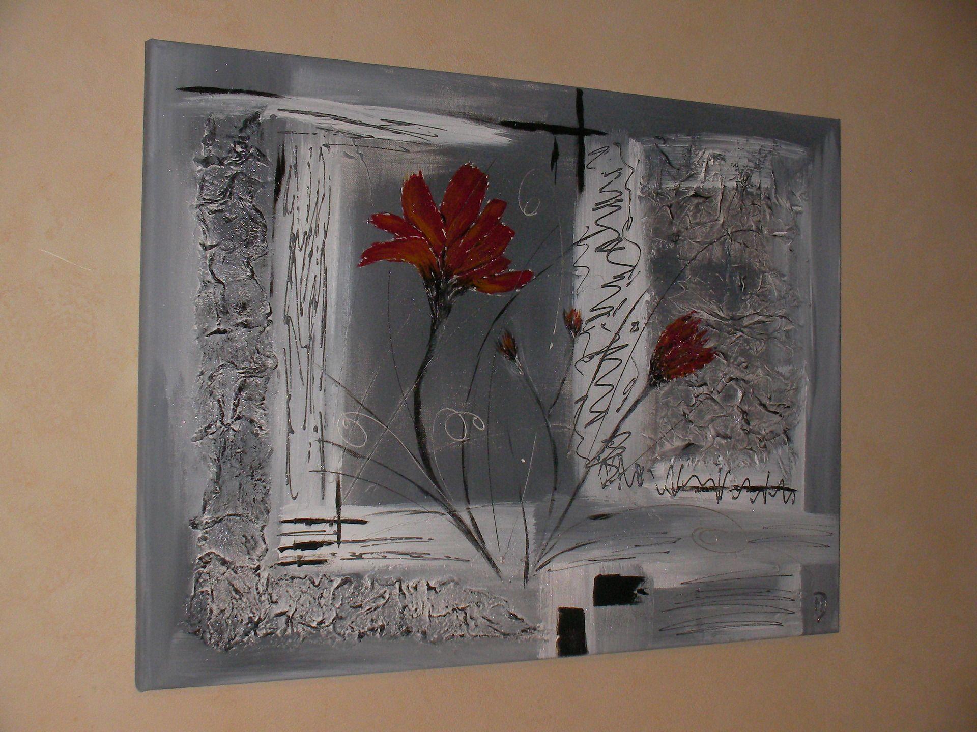 R sultats de recherche d 39 images pour peinture abstraite - Modele de peinture acrylique sur toile pour debutant ...
