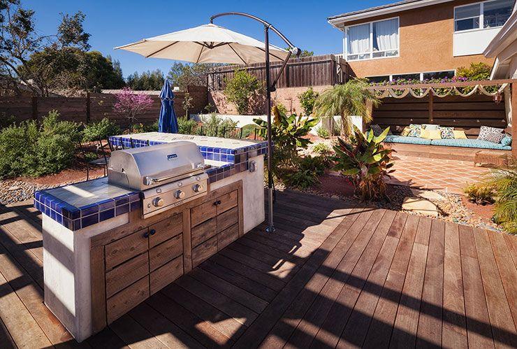 Spanish Tuscan Outdoor Kitchen Design San Diego Outdoor Kitchen