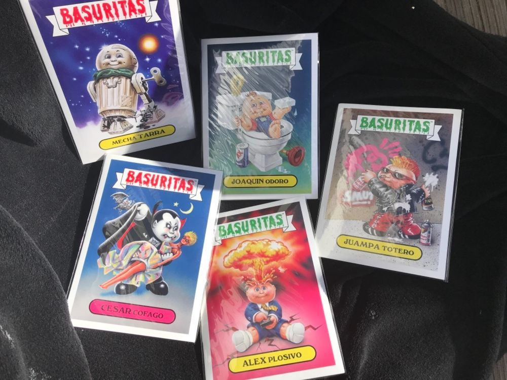 Yugioh Sticker Album W// Topps Bubble Gum Sticker Pack