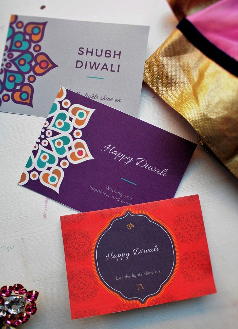Printable Diwali Greeting Cards For Friends And Family Diwali