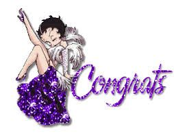 Image result for betty boop congrats gif animated