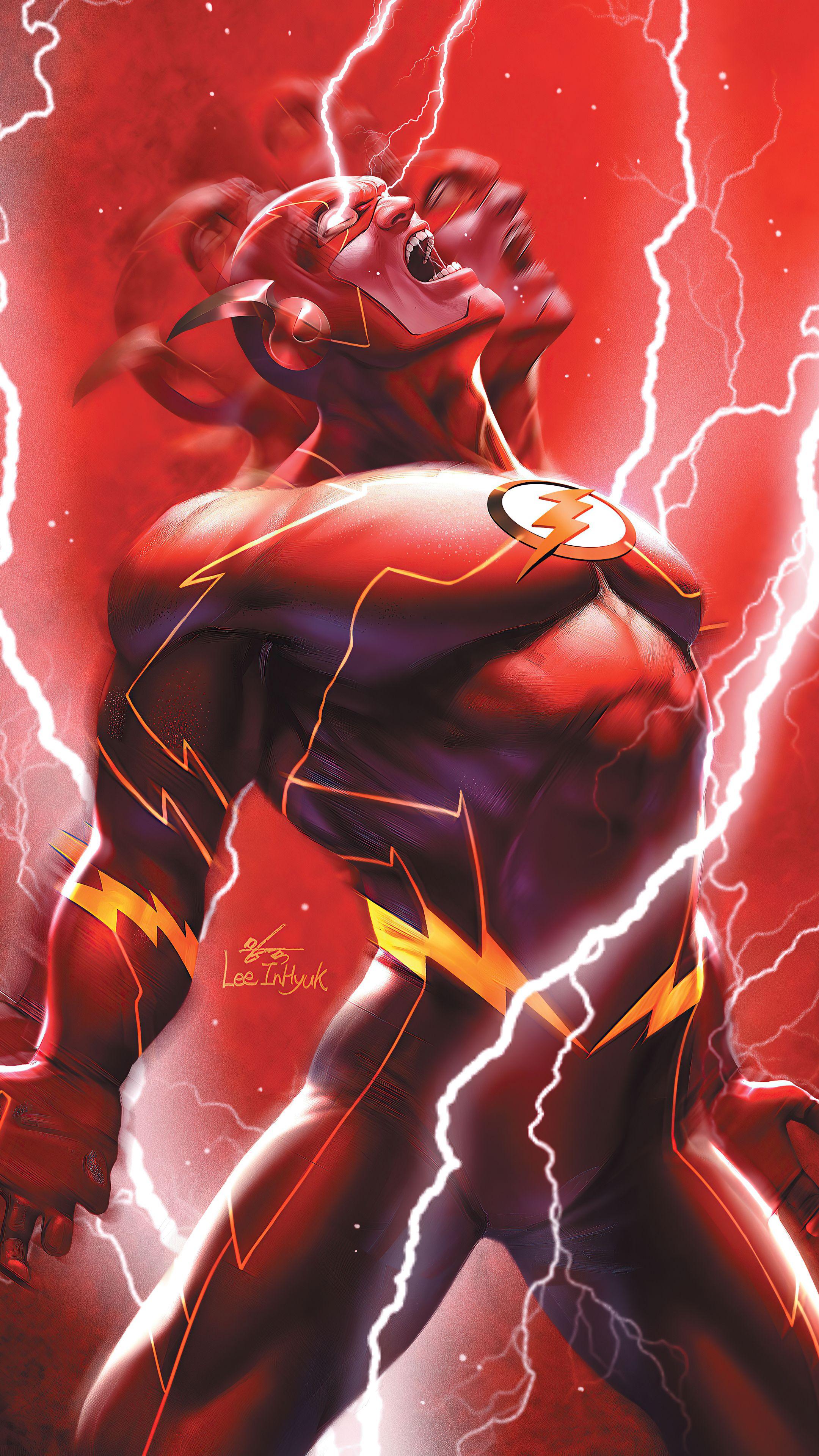 Flash Mobile HD Wallpaper in 2020 Flash comics, Flash