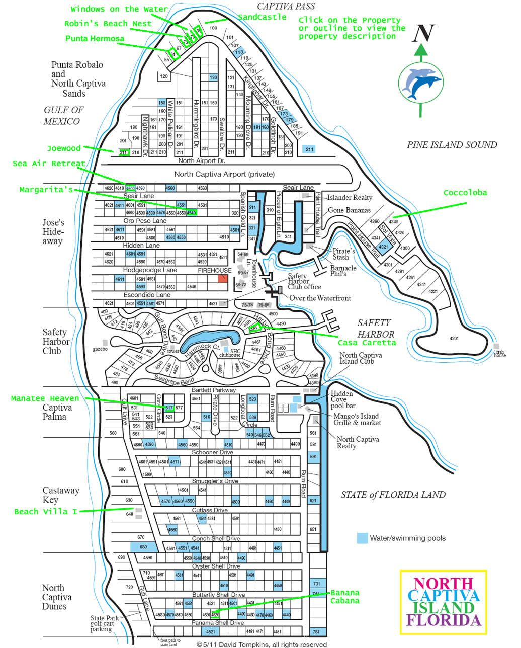 North Captiva Map For All Of You Adventurers Out There Make