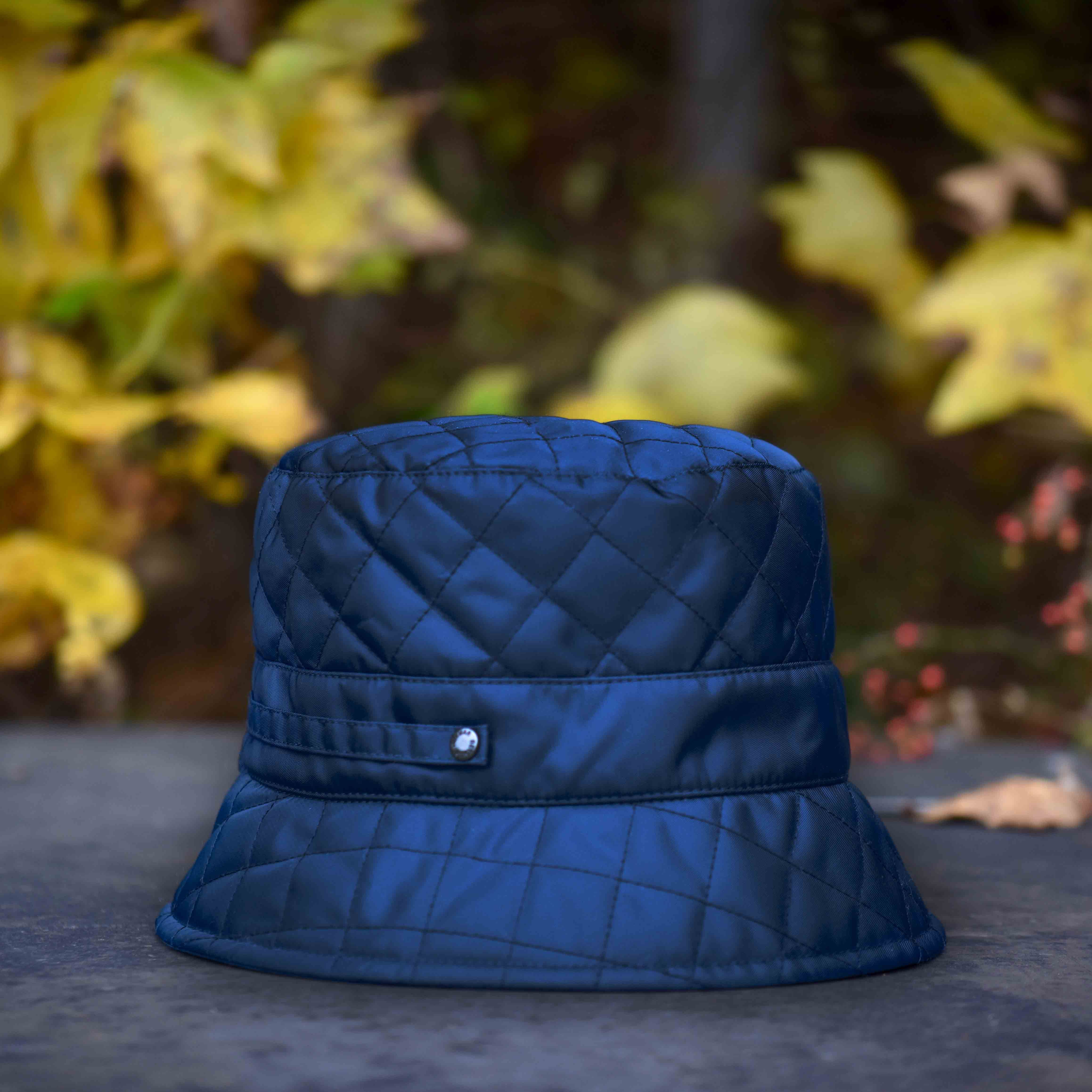 54b7ef600e2 The stylish and functional Quilted Bucket Hat