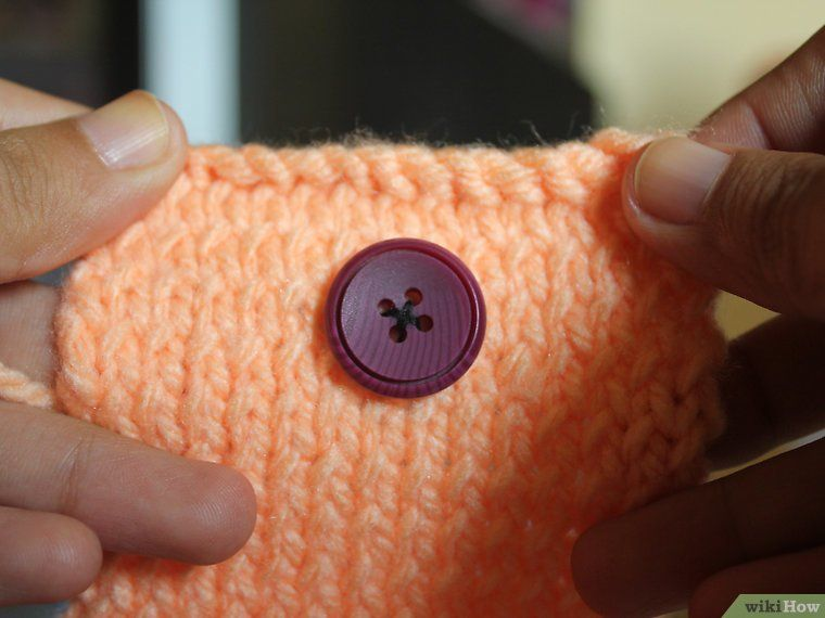 Knit a Coin Purse   Coin purse pattern, Beginner knitting ...