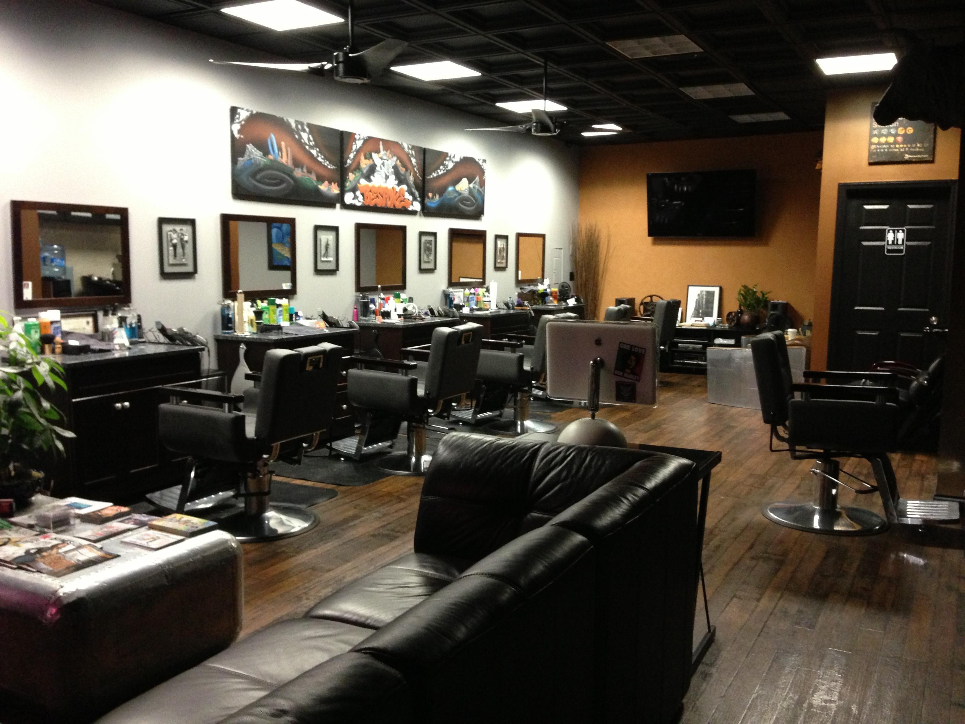 Barber shop floor plans design joy studio design gallery for Grooming shop floor plans