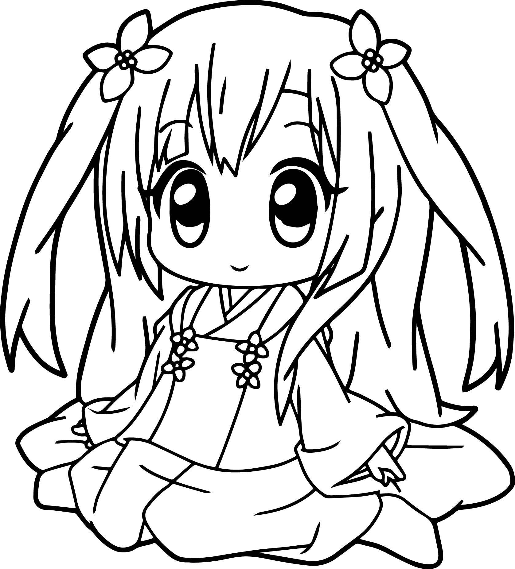 Pin On Flawless Japanese Girl Coloring Page