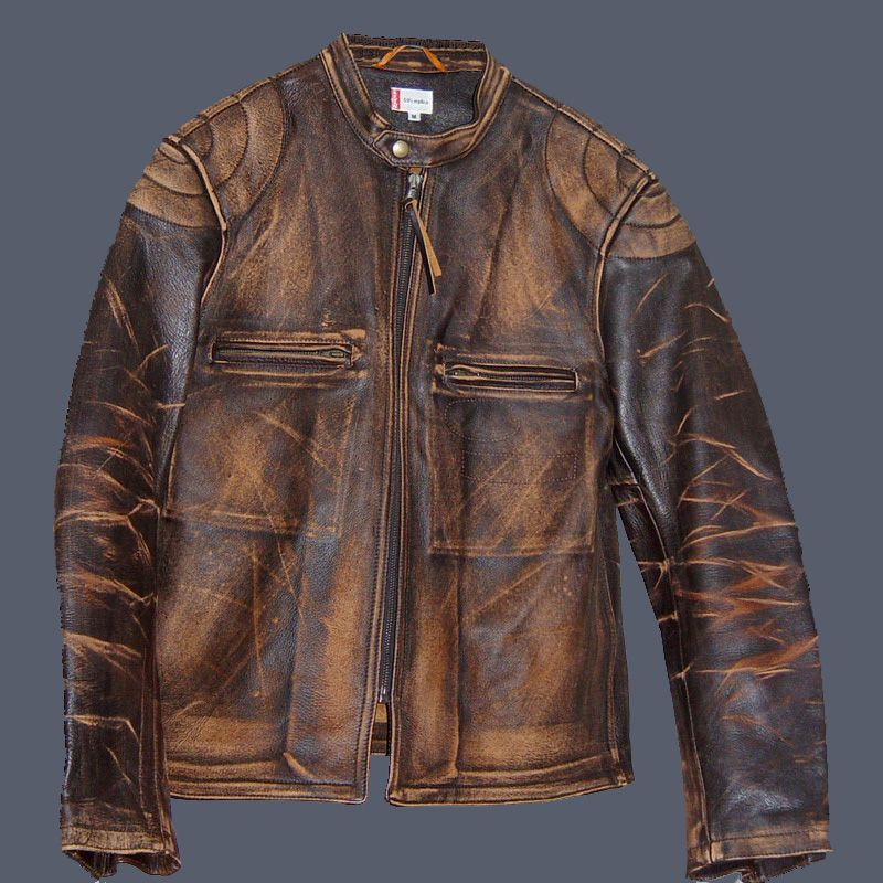 Levi's Bonneville Cafe Racer Jacket. Veste en cuir