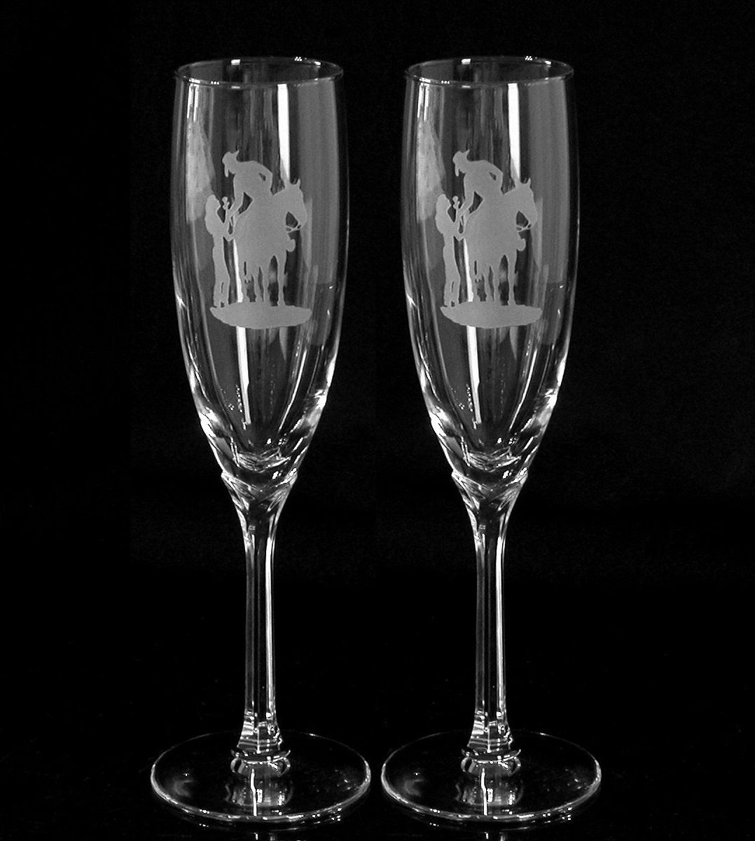 Dress Goblet Gles For A Wedding Personalized Toasting Domaine Flutes
