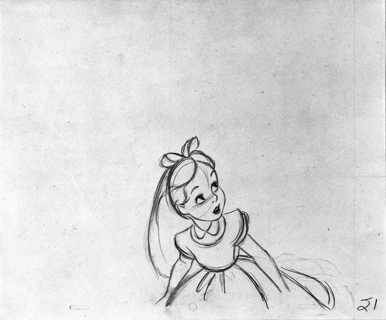 how to draw alice in wonderland characters