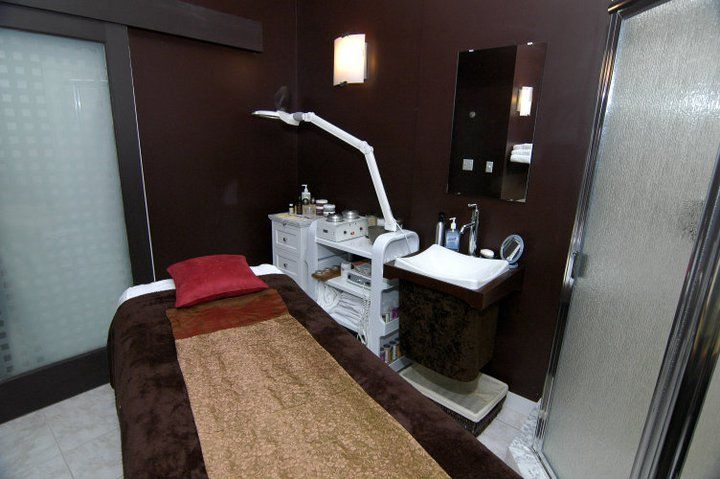 facial room interior design