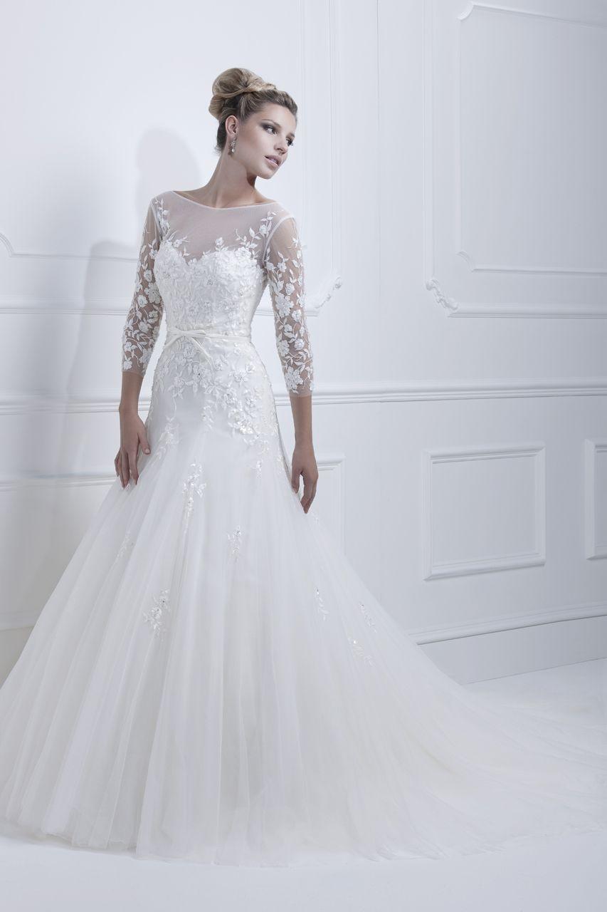 8521250921e6 Den romantiske brudekjole kolleksjonen for ELLIS BRIALS 2013 er ankommet  vår salong. Bestill prøvetime nå i vår brudesalong ABELONE COLLECTION AS ...