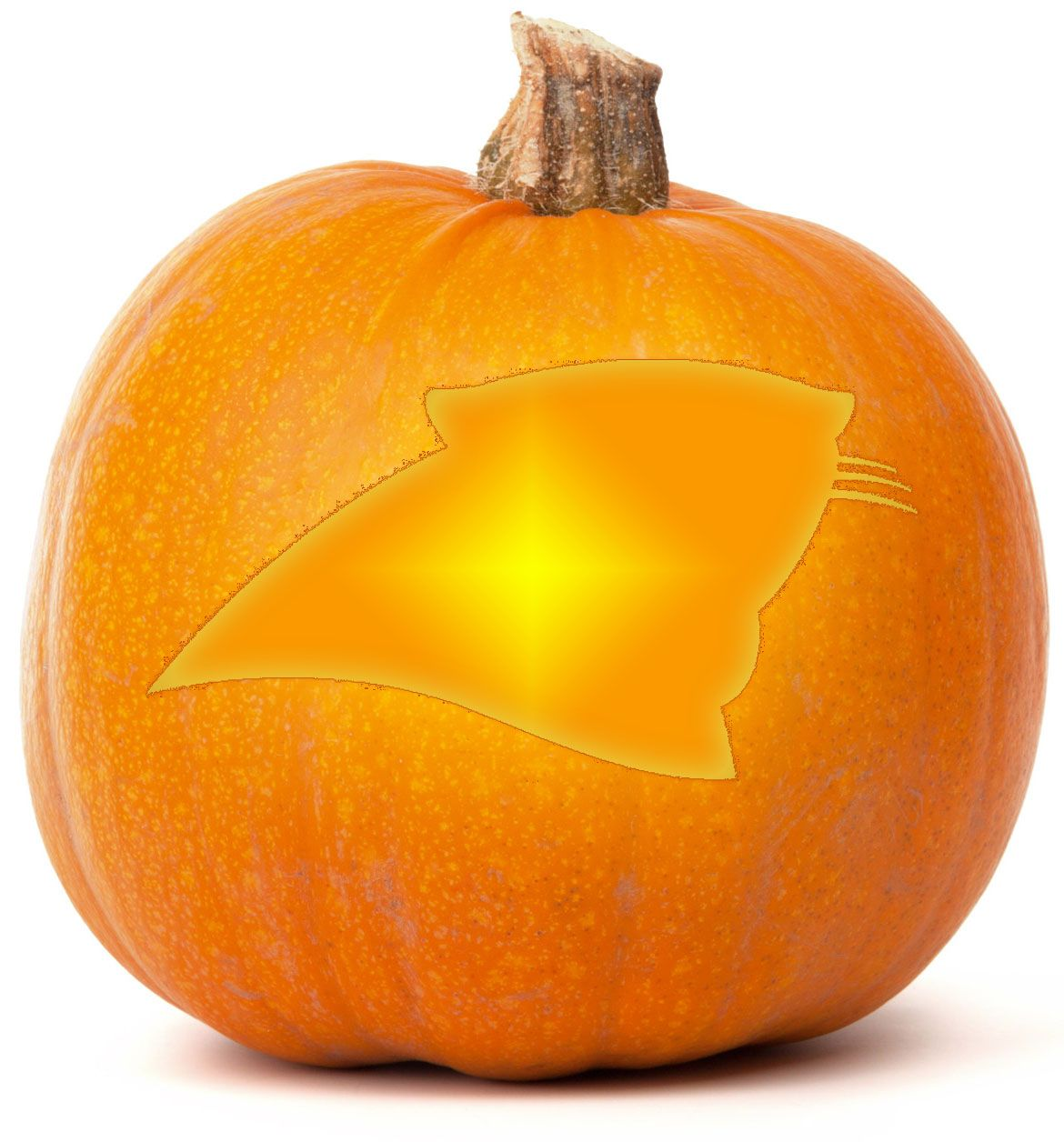 Download our free carolina panthers pumpkin carving