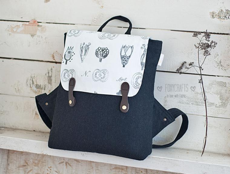 9f84bb10eea6 мастер класс, женский рюкзак, текстильные сумки   SEWING   Backpacks ...
