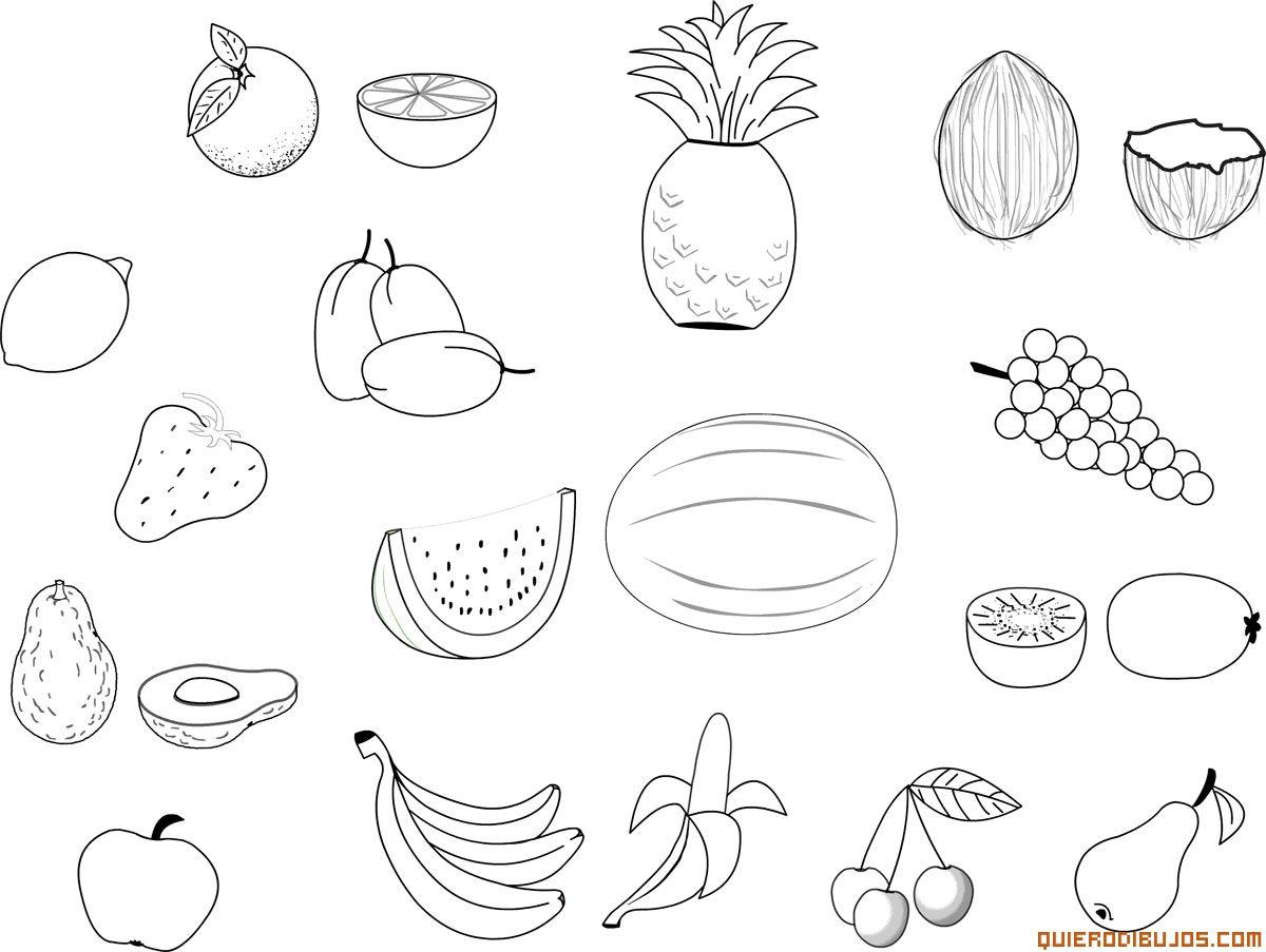 Frutas variadas | ANAMARIA | Pinterest | Fruta, Dieta sana y Sandia