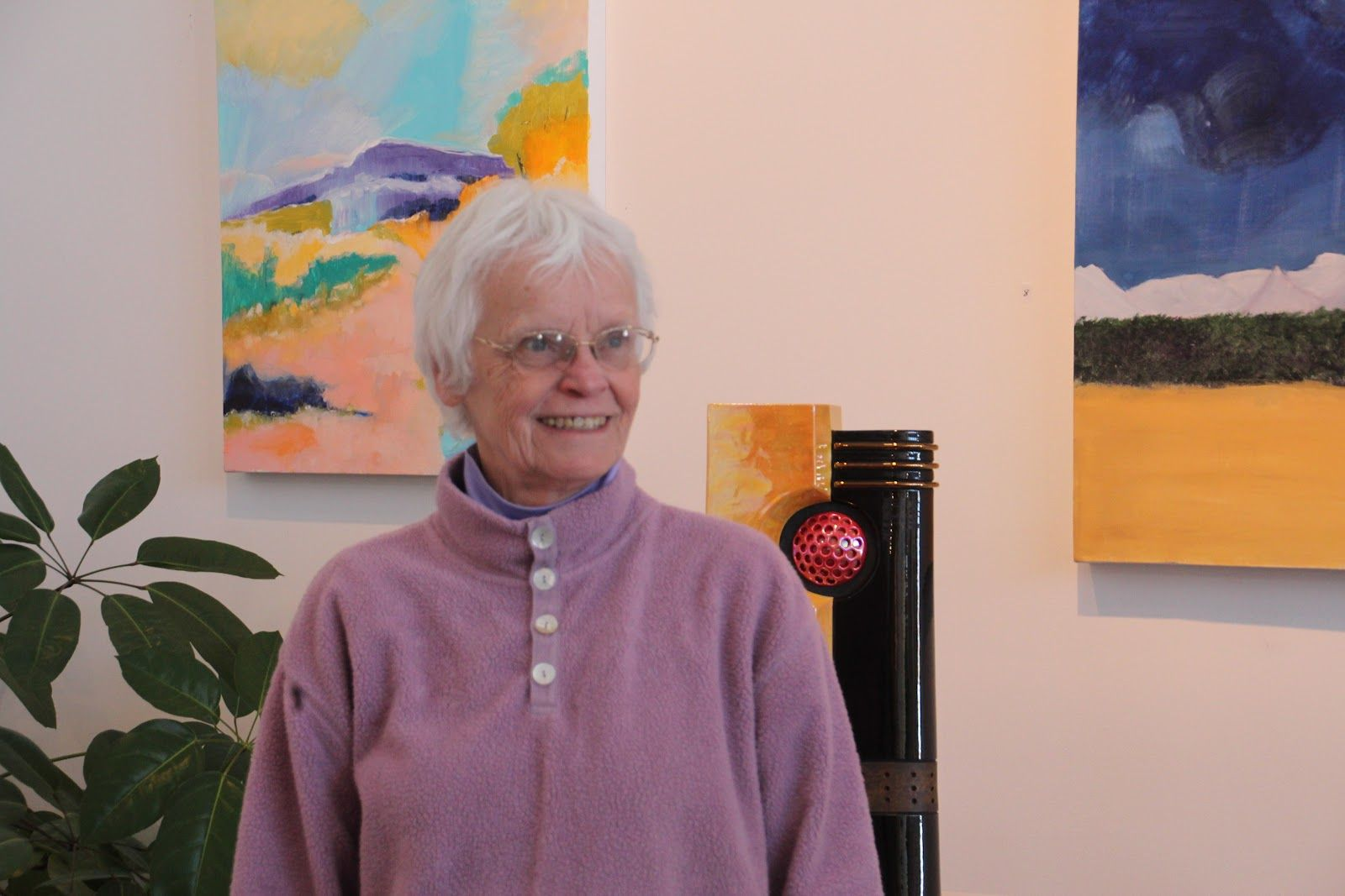 Kate Cardona Hine Gallery In Truchas New Mexico