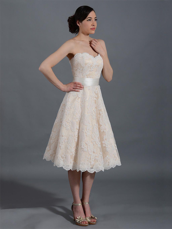 Ivory strapless lace wedding dress alencon lace with sash ivory strapless lace wedding dress alencon lace with sash ombrellifo Choice Image