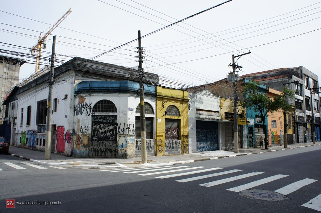 Old houses in Sao Paulo