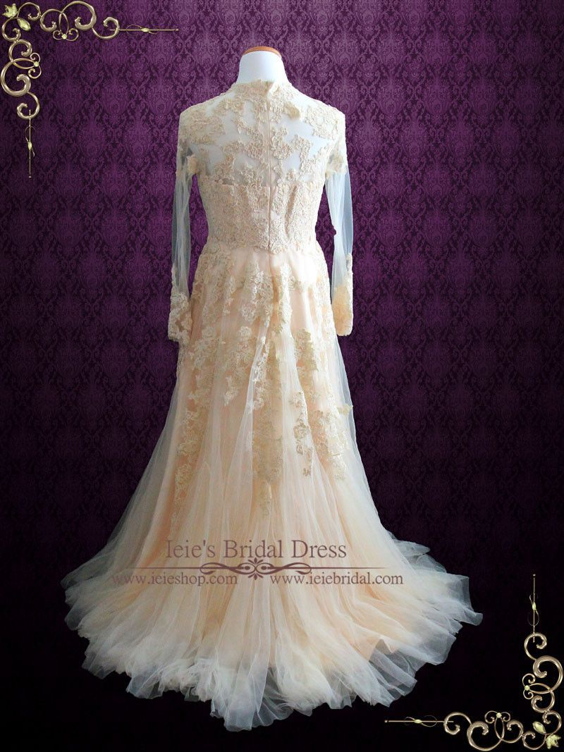 Vintage inspired lace wedding dress a modified version of our