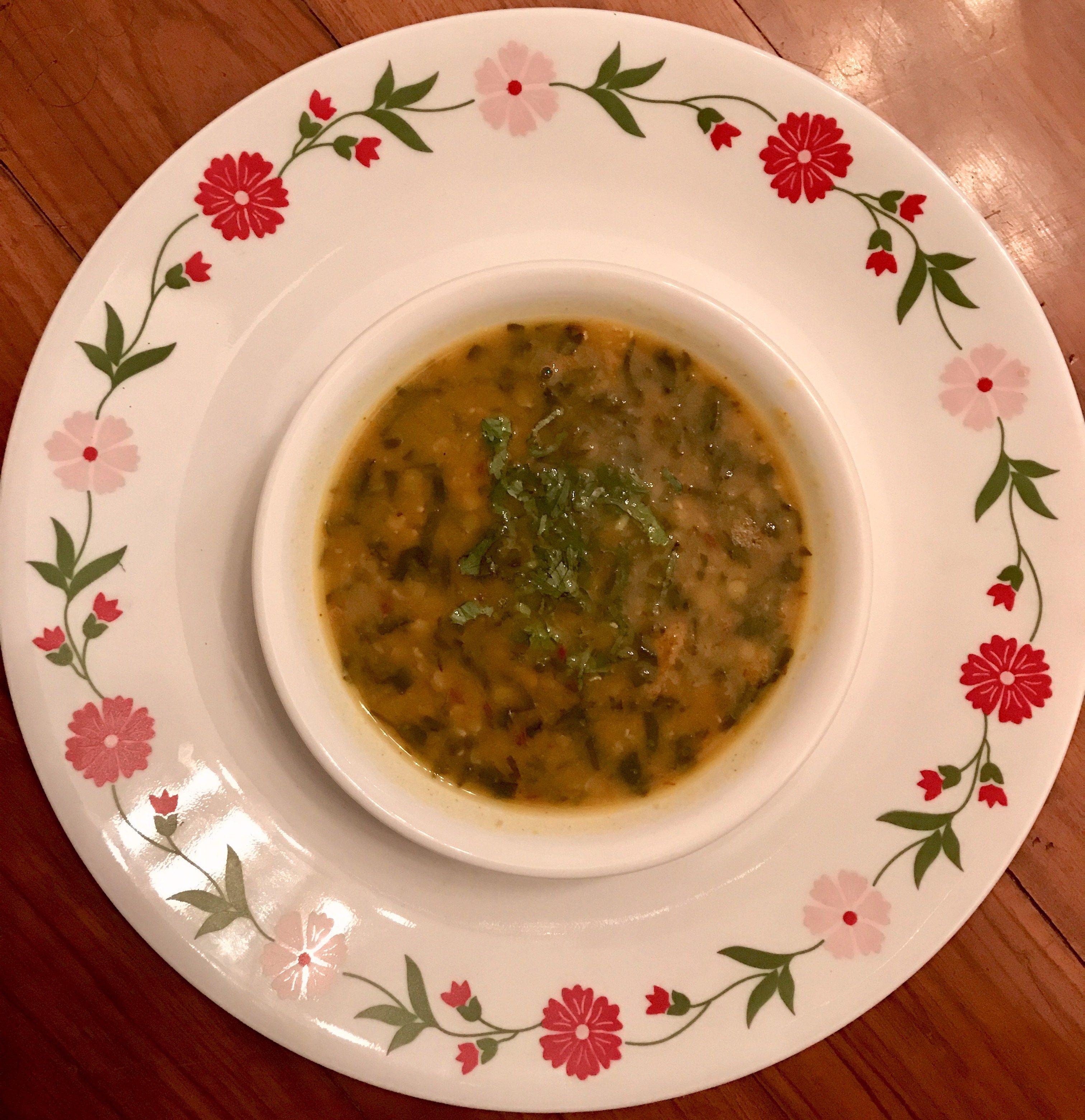 Keto Tadka Dal, Keto for India, Indian Keto Recipes