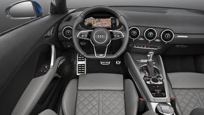 Audi TT Coupé, interior