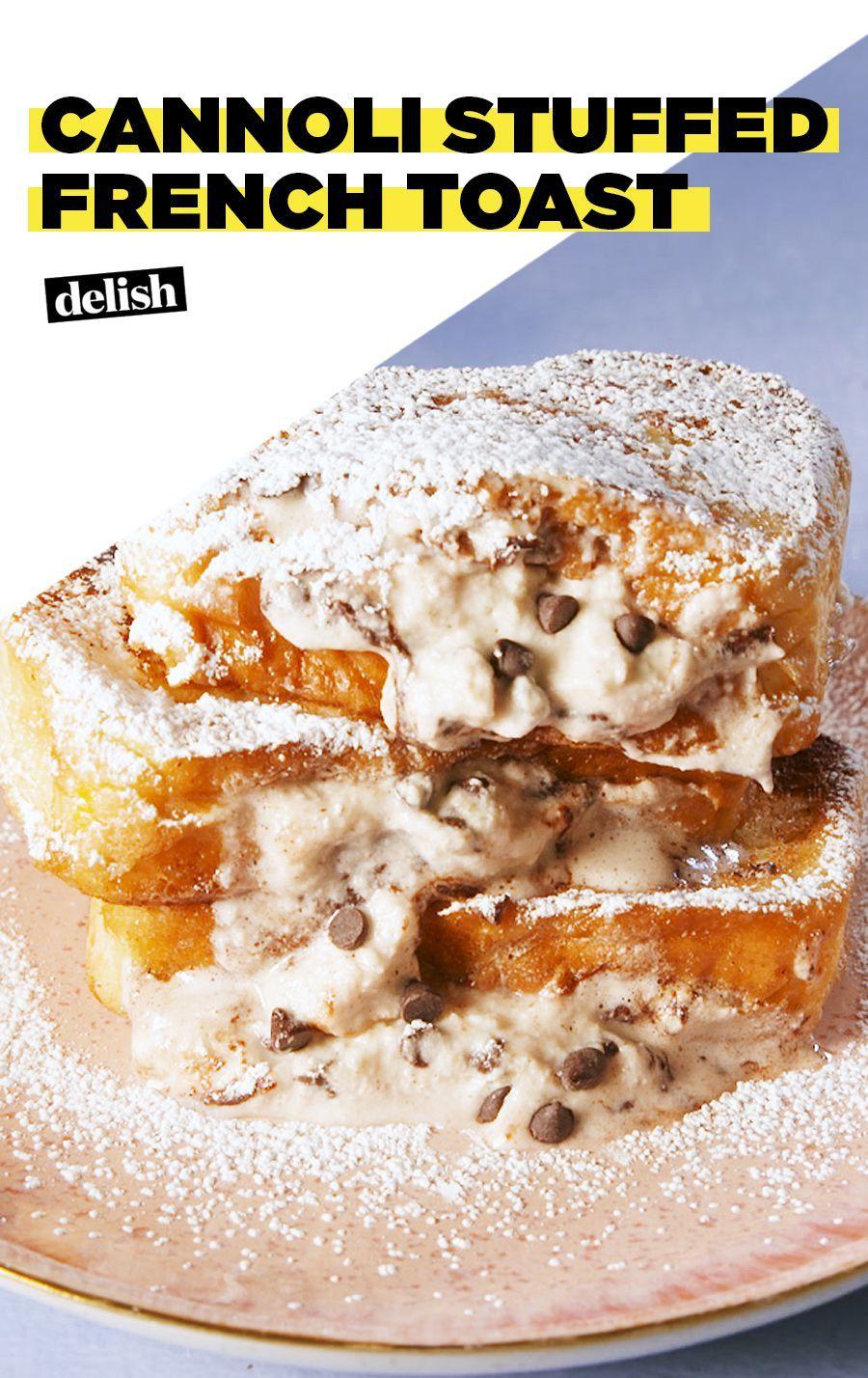 Cannoli-Stuffed French Toast = Brunch's MVP