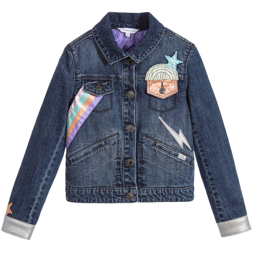 dfb91754b485 Little Marc Jacobs  Childrensalon Denim jacket style  jacket  blue ...
