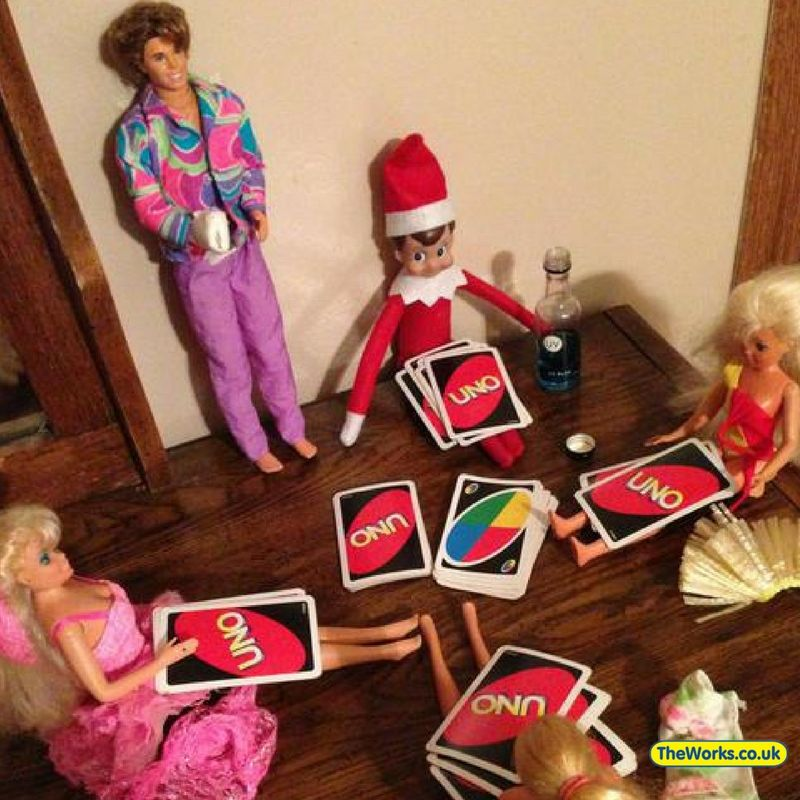 Hilarious Elf On The Shelf Examples - Grown Ups Only! #elfontheshelfideas