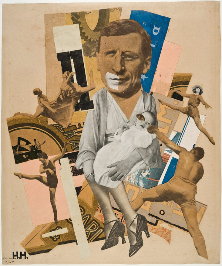The Father / Hannah Hoch / 1920 --- Hannah Hoch: Rebel with a Cause