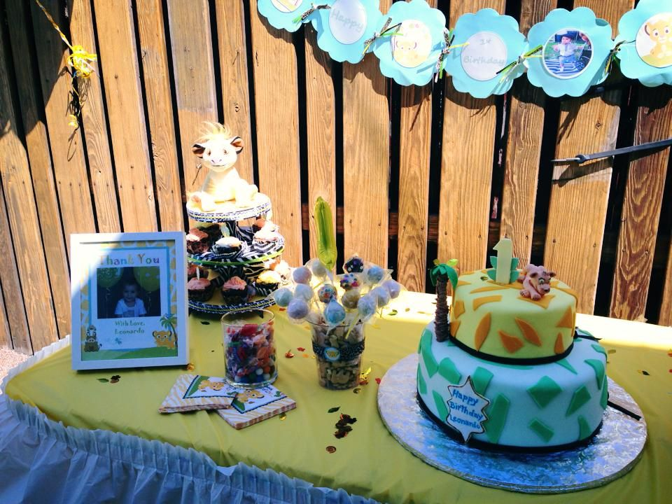 cake, cake pops, cupcakes and candy. Thank you for coming