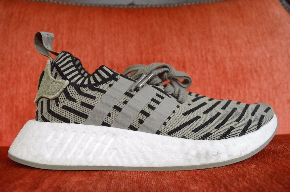 wholesale dealer 288d2 98ddb Adidas NMD R2 PK Trace Cargo Olive Green Black White Size 6 ...