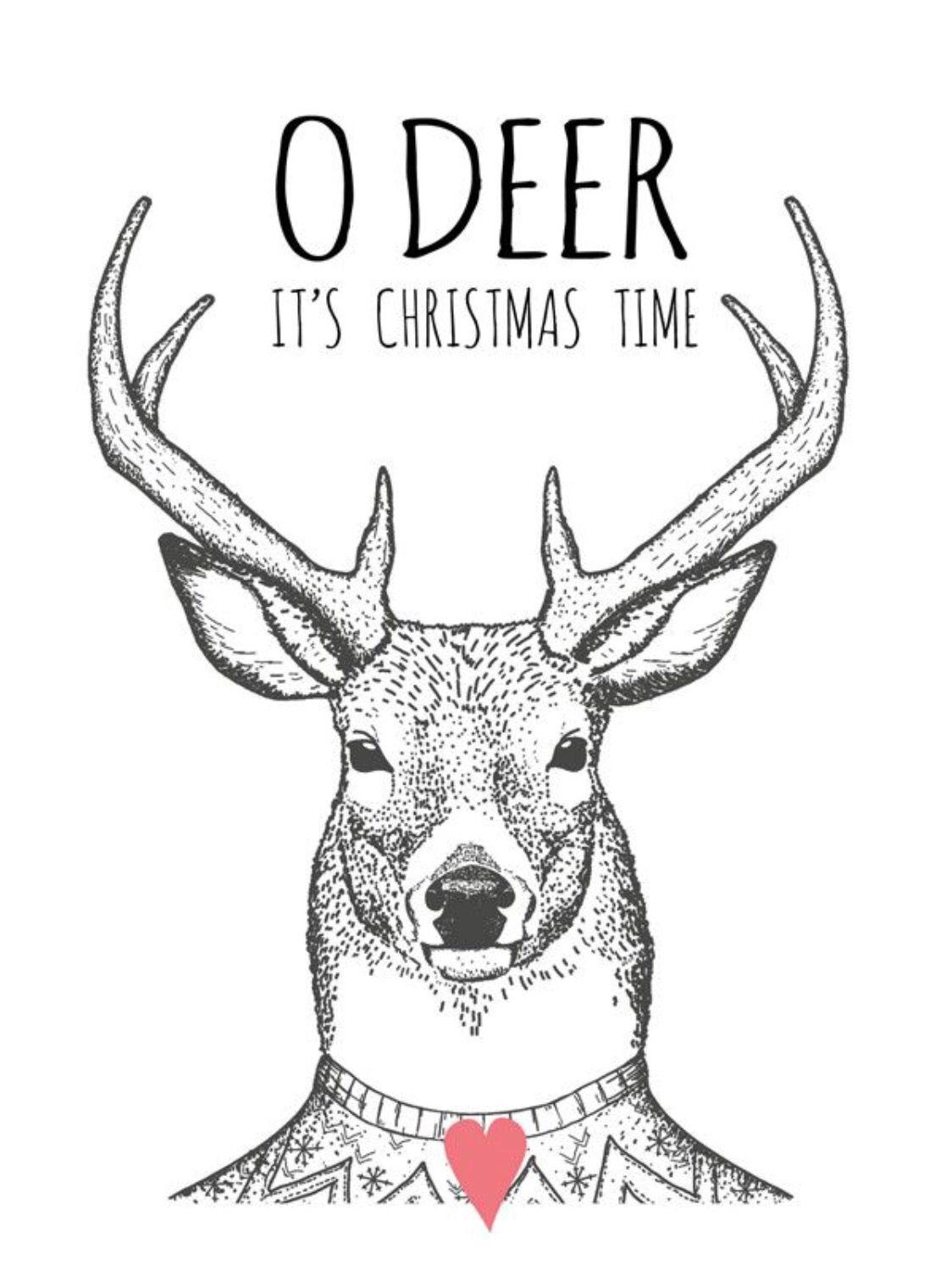 O Deer Pinterest