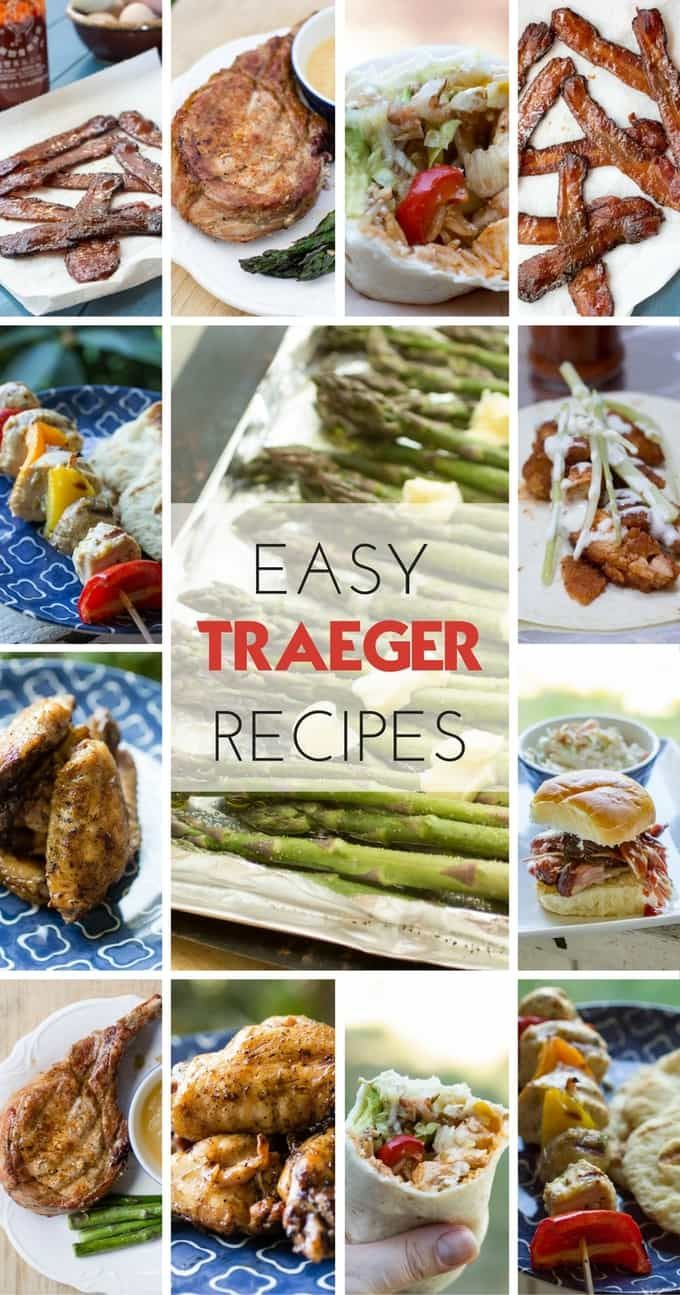 Easy Traeger Wood Pellet Grill Recipes #grillingrecipes