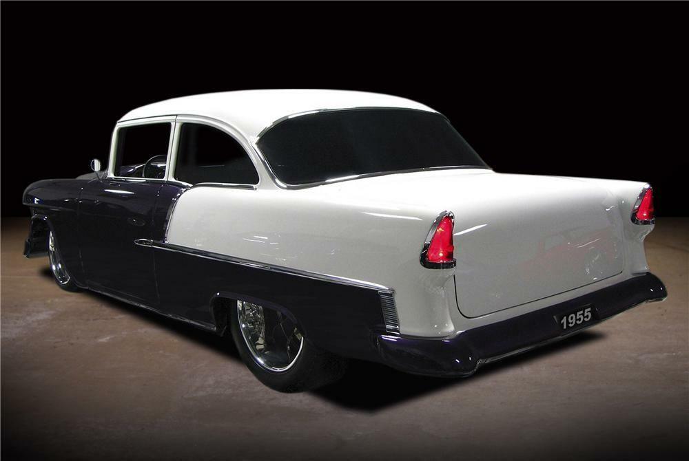 1955 CHEVROLET 210 CUSTOM 2 DOOR POST – Barrett-Jackson Auction Company – World's Greatest Collector Car Auctions