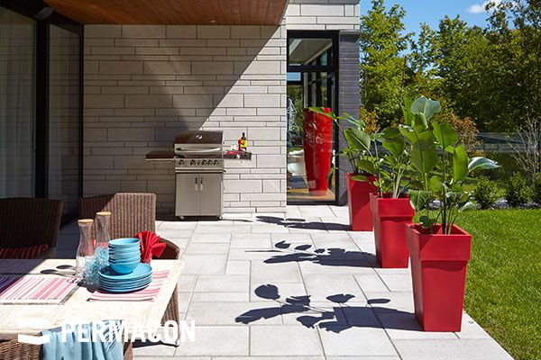 beautiful terrace layout terrasse ext rieure en. Black Bedroom Furniture Sets. Home Design Ideas