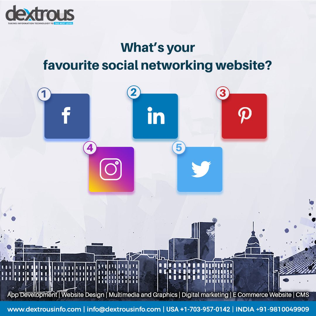 A popular marketing and communication tool social media