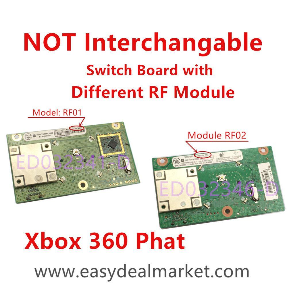 Xbox 360 Wireless Controller Circuit Board