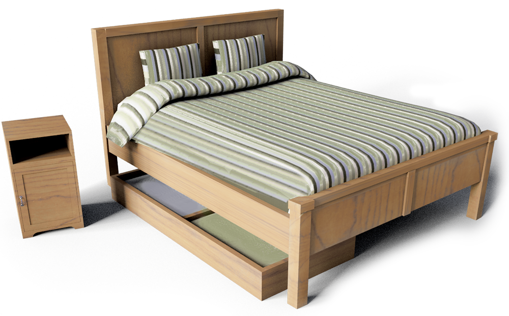 Beds Free Cad And Bim Objects 3d For Revit Autocad