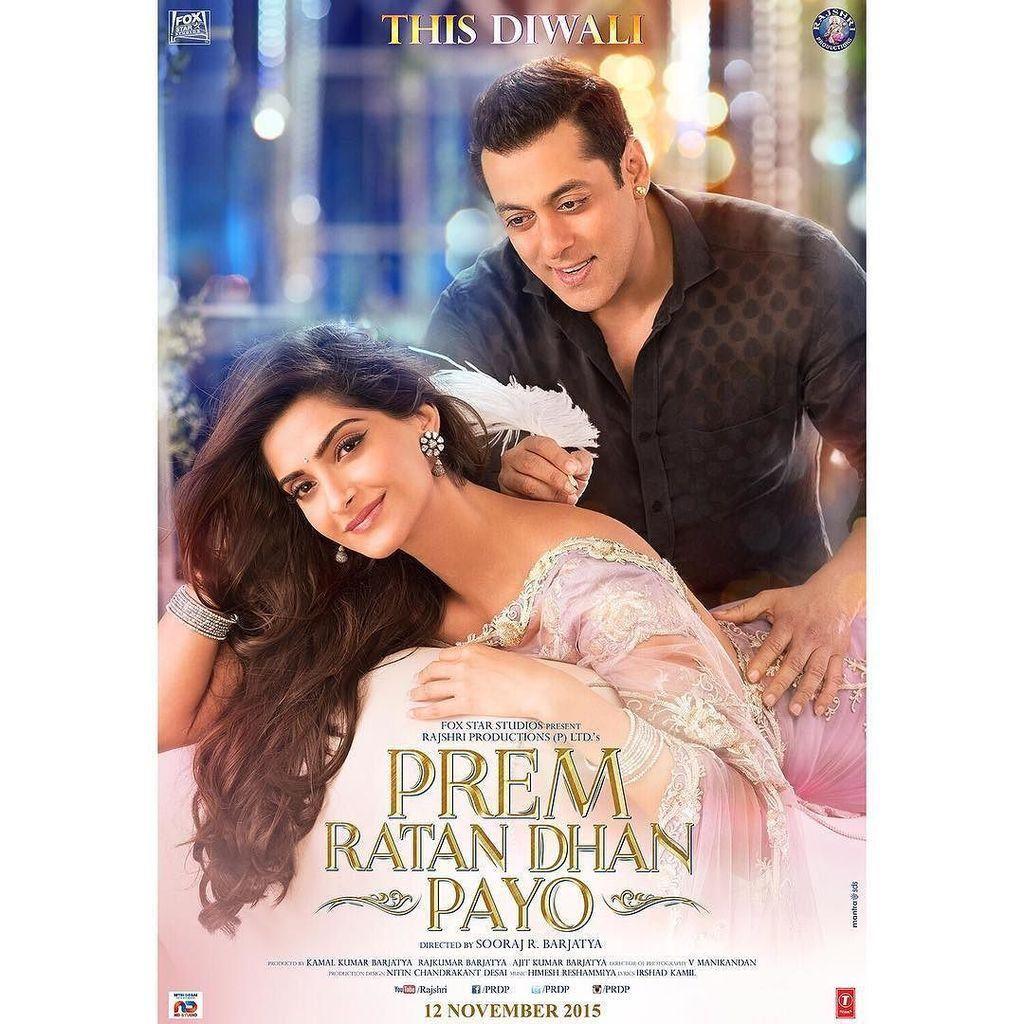 Sonam K Ahuja On Twitter Hindi Bollywood Movies Bollywood Movie Songs Prem Ratan Dhan Payo
