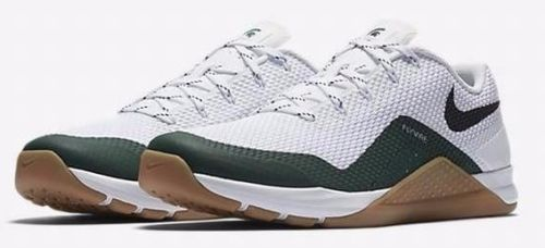 sale retailer 88cb5 8d2a1 Nike Metcon Repper DSX Michigan State Mens Crossfit Shoes 13 White 921215  100  Nike  RunningCrossTraining