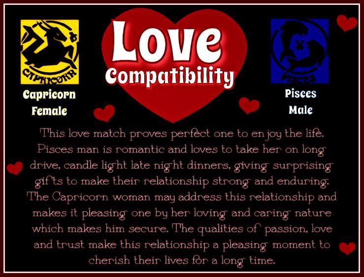 Love Compatibility Capricorn Female  Pisces Male  I Am -1146