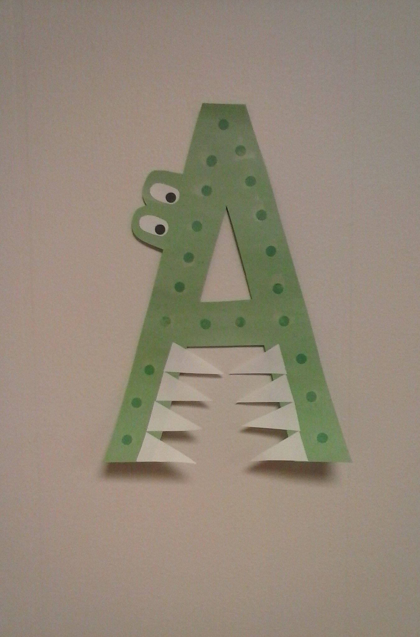 Preschool Letter A A Is For Alligator
